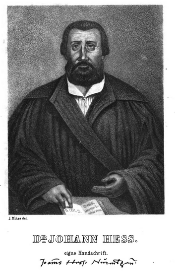 Johann Heß
