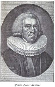 Johann Jacob Rambach