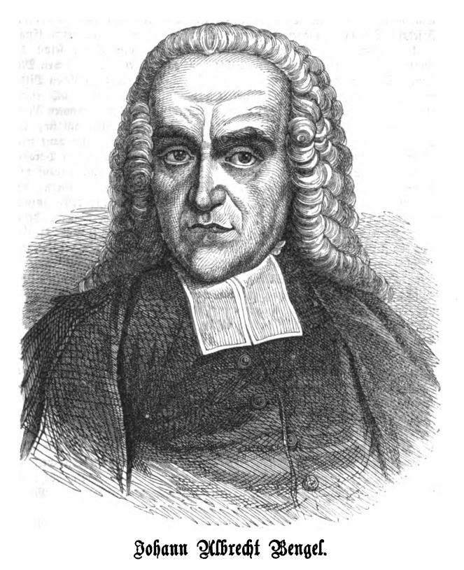 Johann Albrecht Bengel