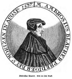 Ambrosius Blaurer von Giersberg